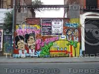The Beatles - Spray Art, Liverpool, United Kingdom
