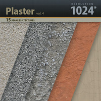 Wall Plaster Textures 1024x1024 vol.4