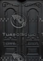 Black Doors Texture