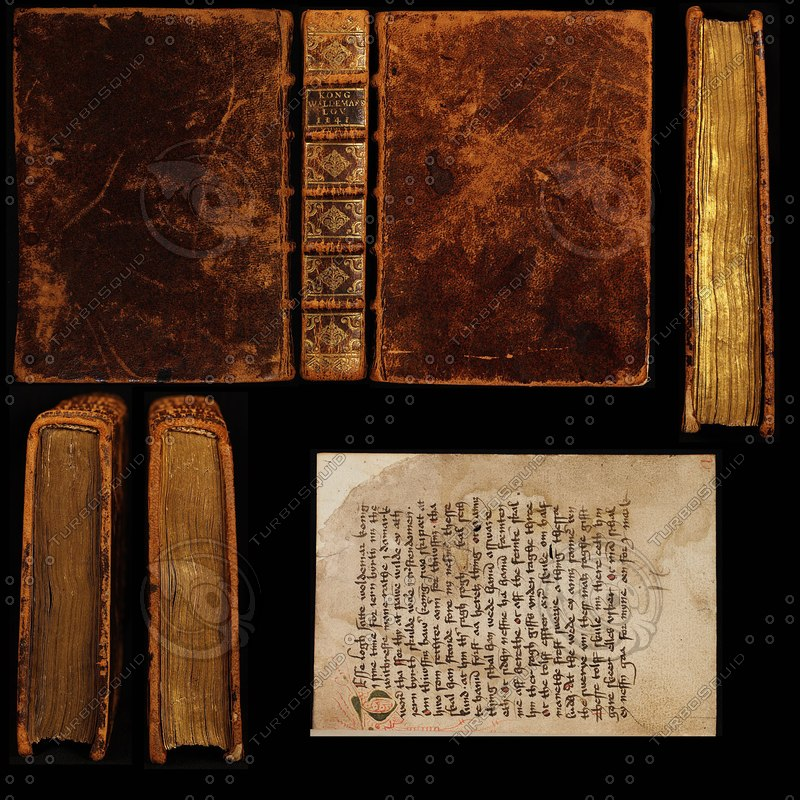 Texture Other book old leather