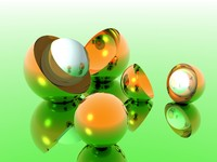 Bronze Balls and Green
