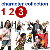 character collection 123 III