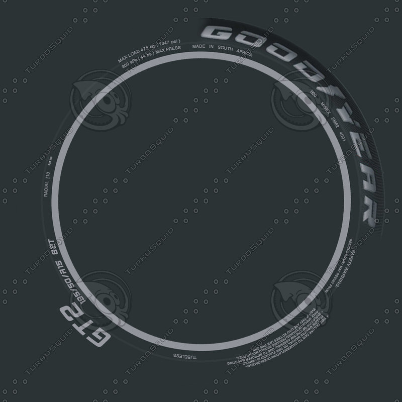 Texture Other Tire Sidewall Bumpmap