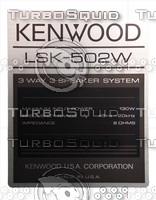 Kenwood Speaker Label 01.psd