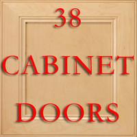38 Cabinet Door Textures
