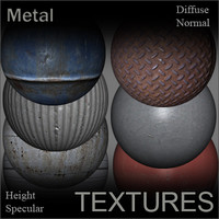 Metal Textures for Shaders