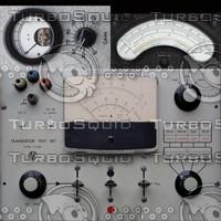 3 old radio textures