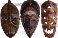 Tribal Mask Collection 01.psd