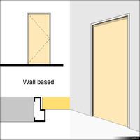 Door Swing Single Metal 00204se