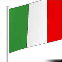 Flag-Italy-Pole-00306se
