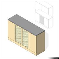 Cabinet Sideboard 00404se