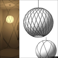 Lamp Ceiling Suspended 00543se