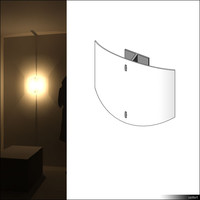 Lamp Wall 00665se