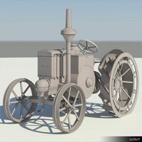 Vehicle-Tractor-LanzBulldog-00666se