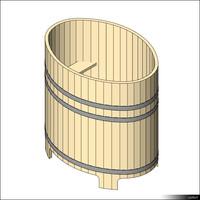 Sauna Tub 00871se