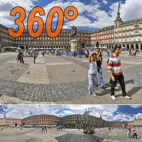 Major square - 360° panorama