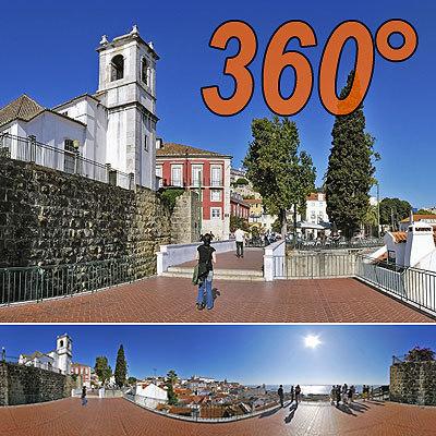 Outlook Lisbon 2 - 360° panorama