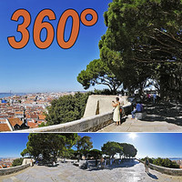 Gardens saint George - 360° panorama