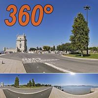 Seafront Belem - 360° panorama