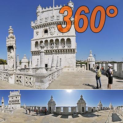 Belem Tower - 360° panorama