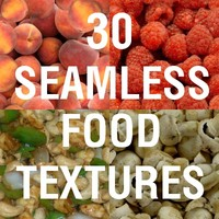 TS 30 Seamless Food Textures