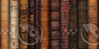 Leather Book Spines Texture