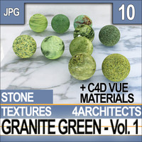 Granite Green Vol. 1 - Textures & Materials