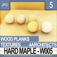 Hard Maple W005 Planks - Textures & Materials