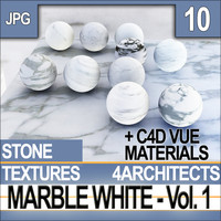 Marble White Vol. 1 - Textures & Materials