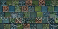 ARTS & CRAFTS GLAZED TILES