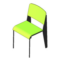 Chair - Jean Prouve - Dining Chair
