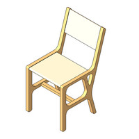 Chair - Kahve - Dining Chair