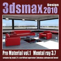 Pro Material 3dsmax 2010 Vol.1