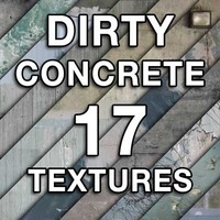 DIRTY CONCRETE Texture Pack
