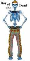 Day of the Dead Male cutout
