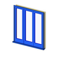 Ext Double-Out Timber Sidelight 1Lite (NZ)