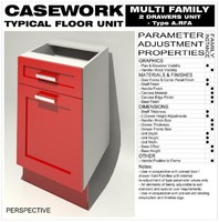 Floor Unit (2 Drawers - Type A)