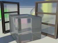 Glass Milky Frosted 1_01 - Mental Ray material