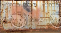 very rusty metal panel 2 / 3