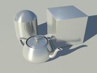 Brushed metal - or aluminum - Mental Ray material