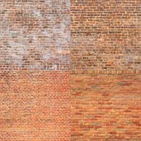 16 Seamless Brick and Stone Wall Textures