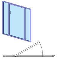 Shower Door w-Glass