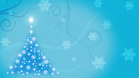 Star Tree Blue