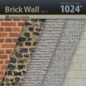 Brick Wall Textures vol.2
