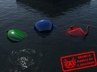 WaterTransparent_3 - Water Material - Procedural - 3ds max 2010 Mental Ray shader