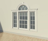 3d model window sidelights