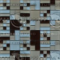 acasis brown blue mosaic