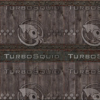 X Tileable Wood and Metal Texture
