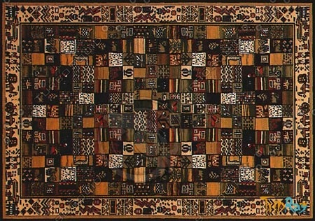 Rectangular carpet 004