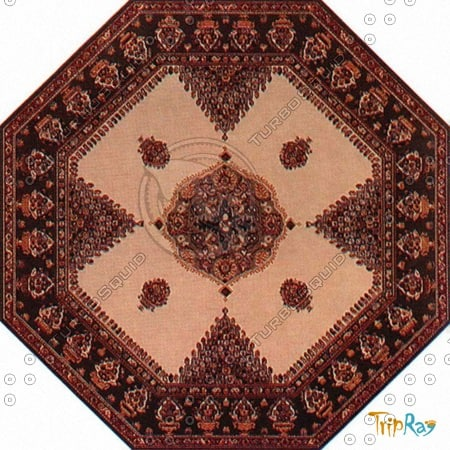 Octagonal carpet 083